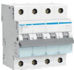 Hager installatieautomaat 3P+N (traag)