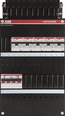 ABB groepenkast 3 fase met aardlekautomaten