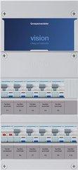 Hager groepenkast 1 fase met aardlekautomaten