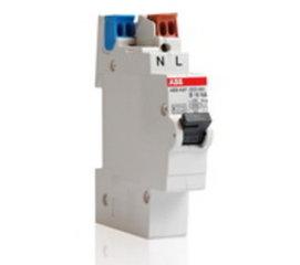 ABB installatieautomaat 1P+N (busboard)
