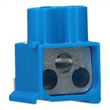 Aansluitklem 3x16mm blauw