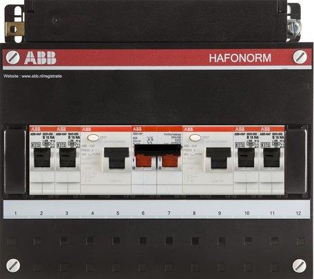Meterkast ABB 4 groepen 1 fase (165x220)