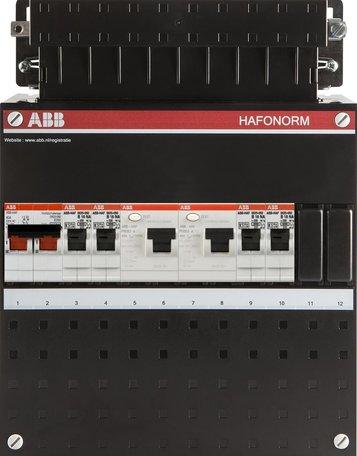 Meterkast ABB 4 groepen 1 fase (klein)