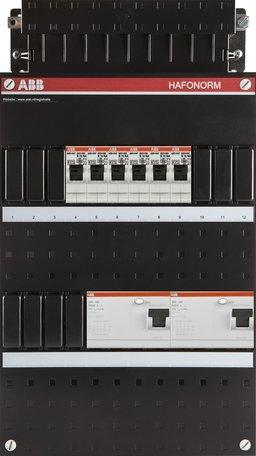 Meterkast ABB 3-fase 6 groepen (220x390-ZH)