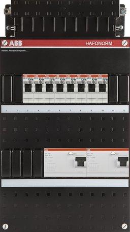 Meterkast ABB 3-fase 8 groepen (220x390-ZH)