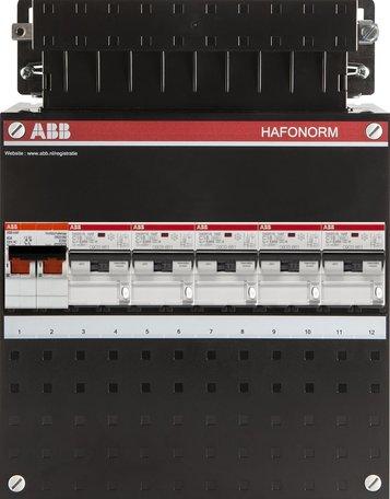 ABB 1 fase groepenkast 5 aardlekautomaten (220x280)