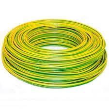 VD draad groen/geel 2,5mm (100 meter)