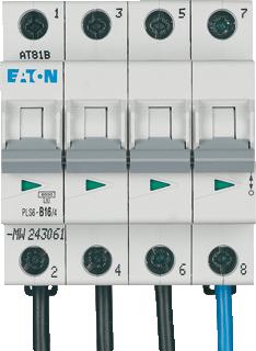 Eaton installatieautomaat 3P+N B16A
