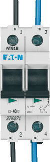 Eaton hoofdschakelaar 2-polig 40A