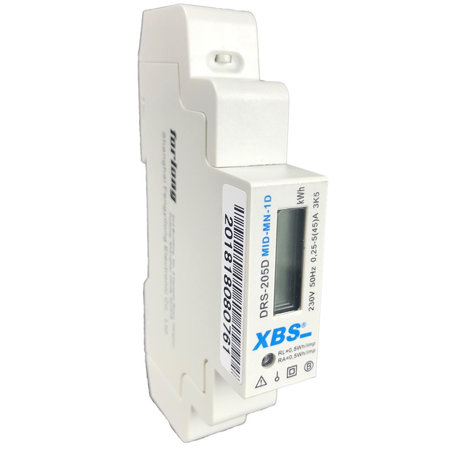 SEP XBS kWh-meter 1f direct 40A + puls MID