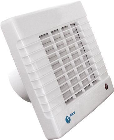 SOLAR 100AZL badkamerventilator met automatische jaloezie