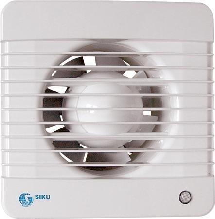 SOLAR 100MTHL badkamerventilator met timer en hygrostaat