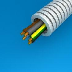 Flexbuis met draad 1x 2.5 + 2x 1.5mm (100 meter)