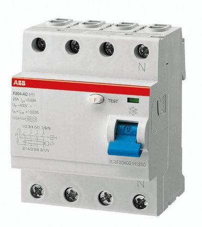 ABB aardlekschakelaar 300mA 40A 4-polig