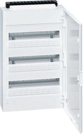 Hager Vega groepenkast 3 rijen (deur wit)