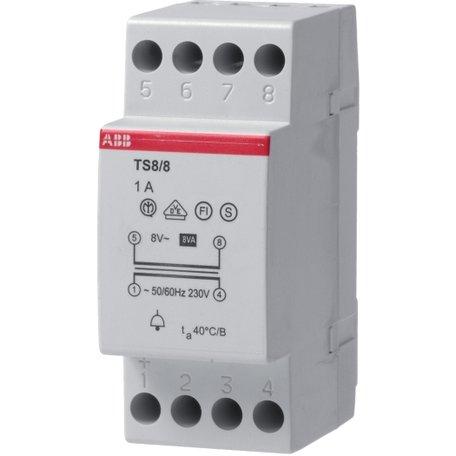 Beltransformator ABB 1A 8 Volt