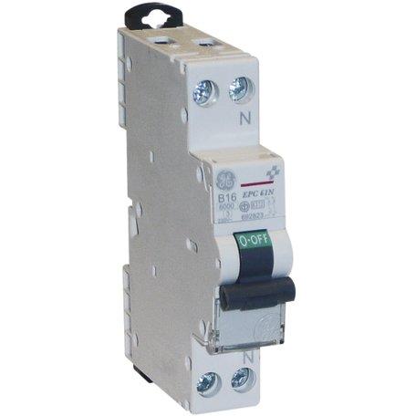 AEG/GE installatieautomaat B16A 1P+N