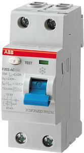 ABB aardlekschakelaar 30mA 40A 2-polig BL (aanbieding)
