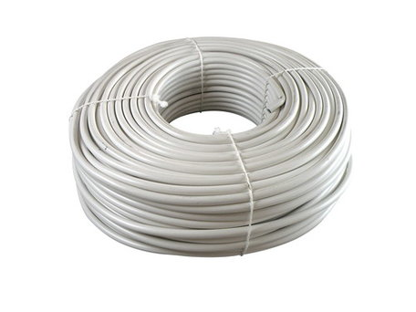 VMvL kabel wit 3x 1,5mm soepel (100 meter)