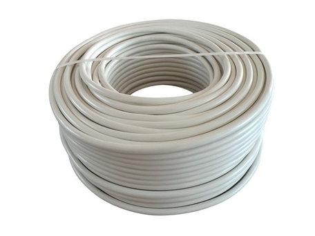 VMvL kabel wit 5x 1,5mm soepel (100 meter)