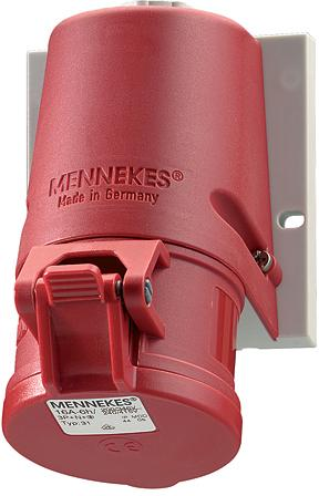 Mennekes CEE stopcontact 400V 16A 5P