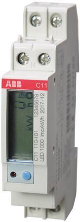ABB kWh-meter 1 fase 40A met MID-keurmerk