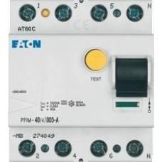 Eaton aardlekschakelaar 30mA 40A 4-polig (aanbieding)