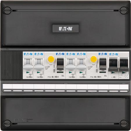 Meterkast Eaton 4 groepen 1-fase (220x220)