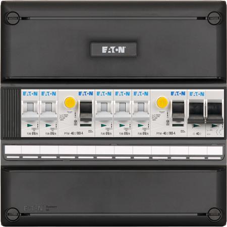 Meterkast Eaton 5 groepen 1-fase (220x220)