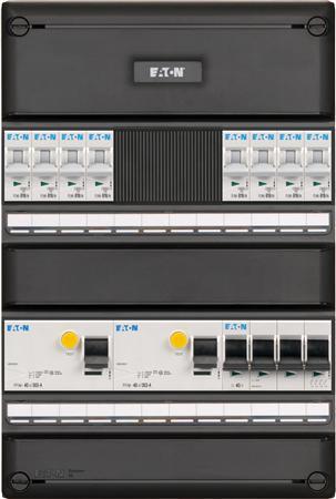 Meterkast Eaton 8 groepen 3-fase