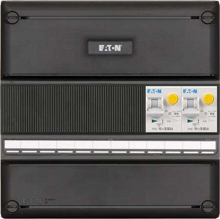 Eaton meterkast 1-fase 2 aardlekautomaten (220x220)
