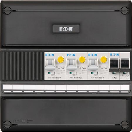 Eaton meterkast 1-fase 3 aardlekautomaten + HS (220x220)