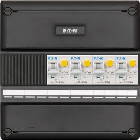 Eaton meterkast 1-fase 4 aardlekautomaten (220x220)