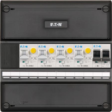 Eaton meterkast 1-fase 4 aardlekautomaten + HS (220x220)