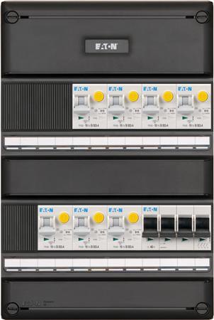 Eaton 3 fase groepenkast 7 aardlekautomaten + HS