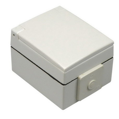 Perilex stopcontact spatwaterdicht 16A