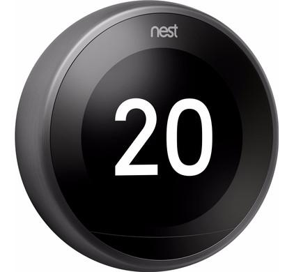 Nest Learning Thermostaat V3 (zwart)
