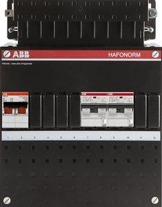 ABB groepenkast 2 aardlekautomaten