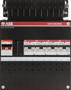 ABB meterkast 4 aardlekautomaten