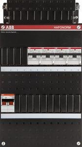 ABB groepenkast 4 aardlekautomaten