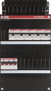 groepenkast 3-fase 5 aardlekautomaten