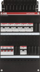 groepenkast 3-fase 6 aardlekautomaten