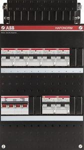 groepenkast 3-fase 7 aardlekautomaten