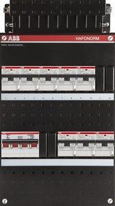 groepenkast 3-fase 8 aardlekautomaten