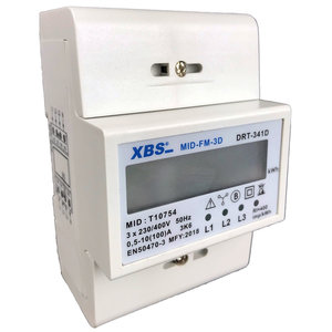 SEP XBS 3-fase kWh-meter