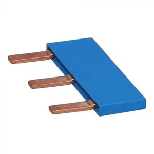 Kamrail 3-pins blauw
