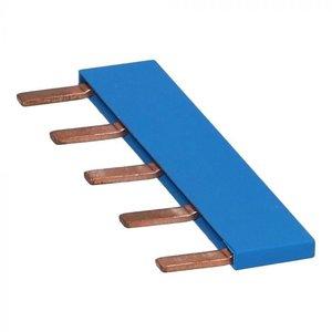 Kamrail 5-pins blauw
