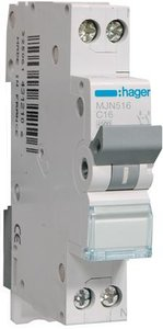 Hager automaat 16A