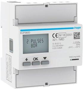 kWh-meter Hager ECP380D